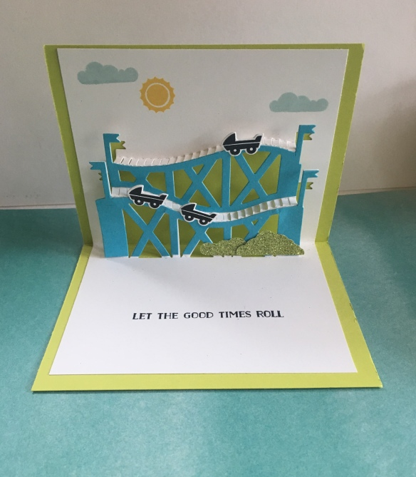 Maui Stamper Stampin' Up! Let the Good Times Roll - Thrill Ride