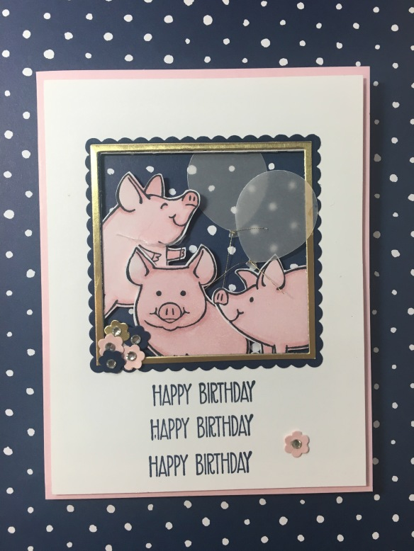 Maui Stamper Stampin' Up! This Little Piggy CI32 ColourInkspiration