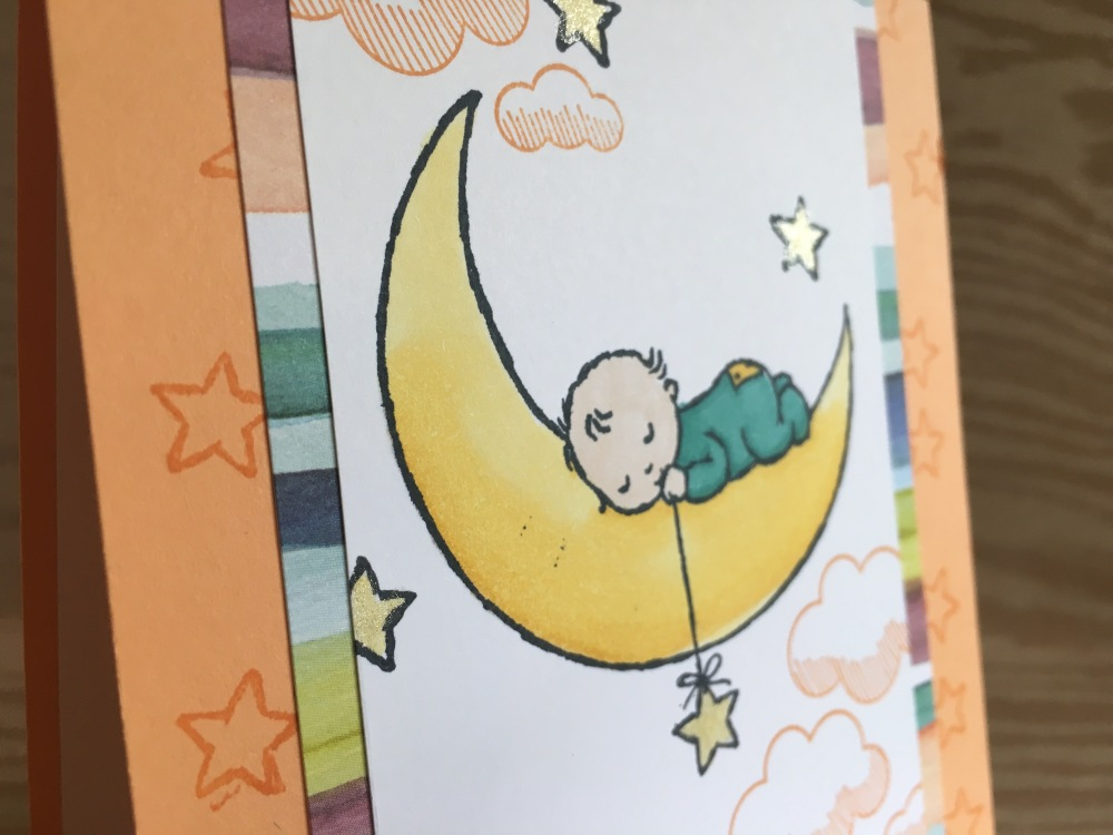 Maui Stamper Stampin' Up! Moon Baby Lift Me Up