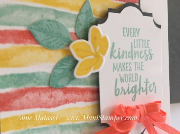 Maui Stamper Stampin' Up! Colour Inkspiration #34 Waterfront