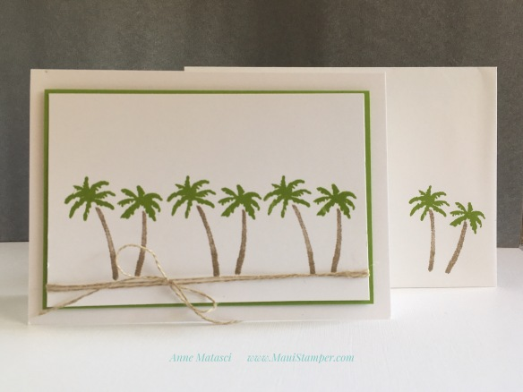 Maui Stamper Stampin' Up! Waterfront