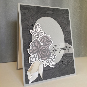 Maui Stamper Stampin' Up! CI35 Petal Palette in Grays