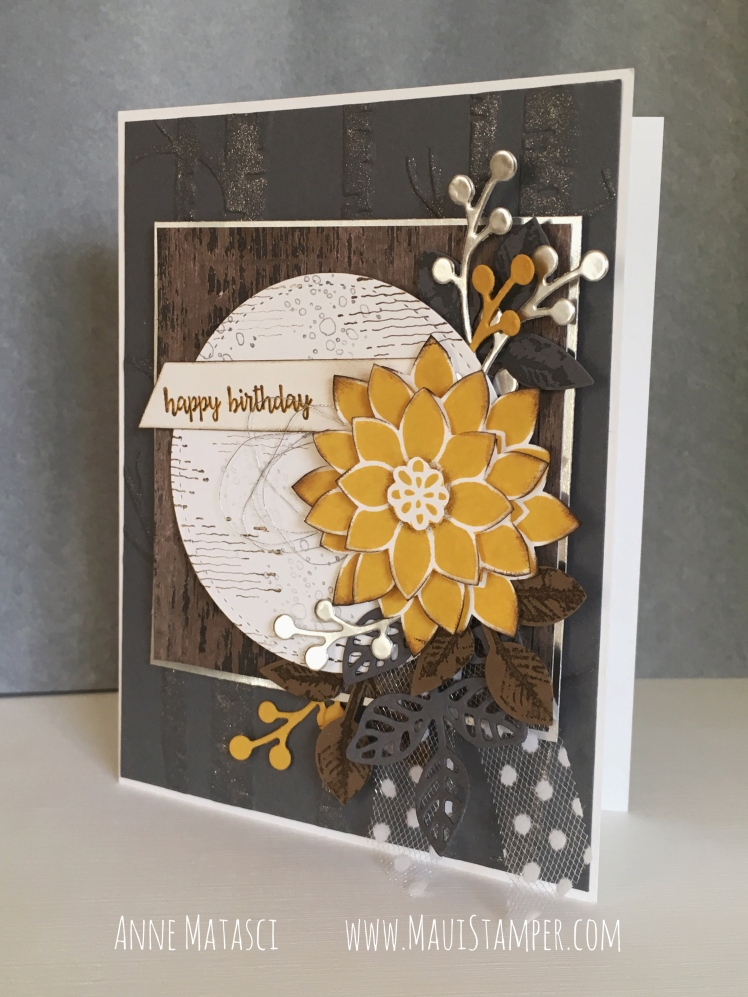 Maui Stamper Stampin' Up! Colour INKspiration 36 Guest Designer