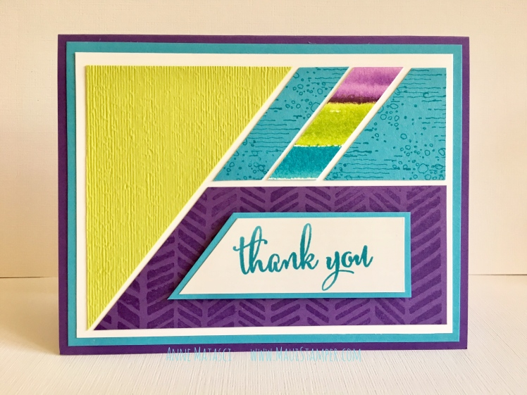 Maui Stamper Stampin' Up! Artistan Textures Love What You Do