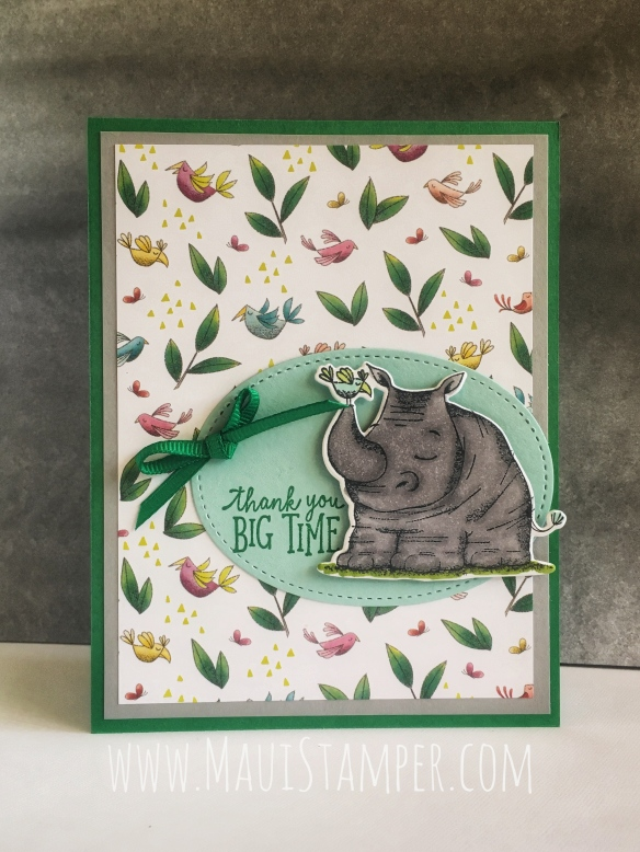Maui Stamper Stampin' Up! Animal Outing