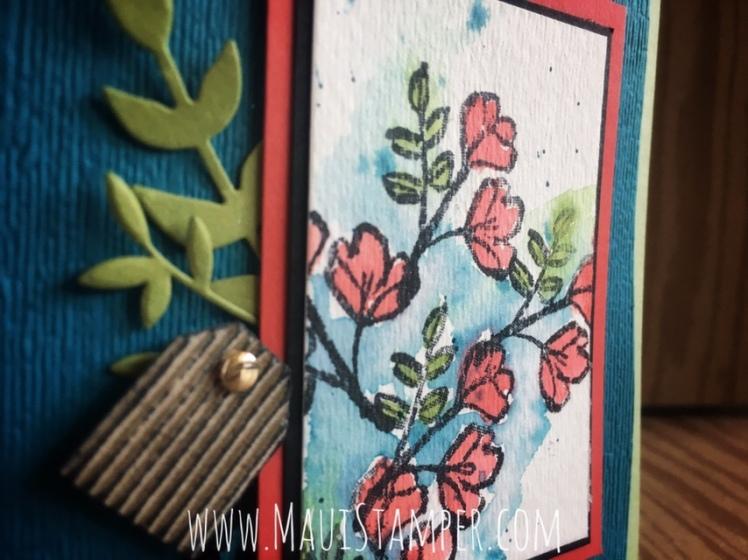Maui Stamper Stampin' Up! Petal Palette with Brusho