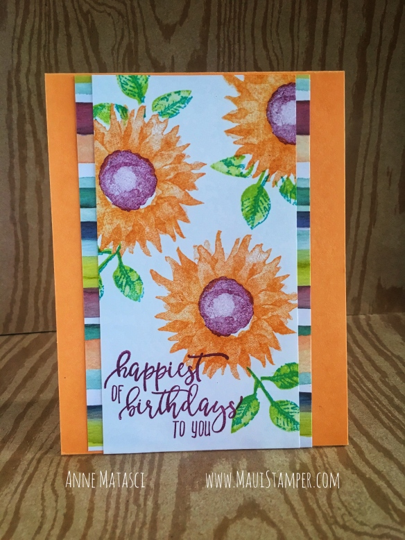 Maui Stamper Stampin' Up! Painted Harvest