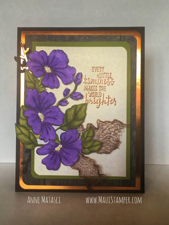 Maui Stamper Stampin' Up! #CI40 Blended Seasons