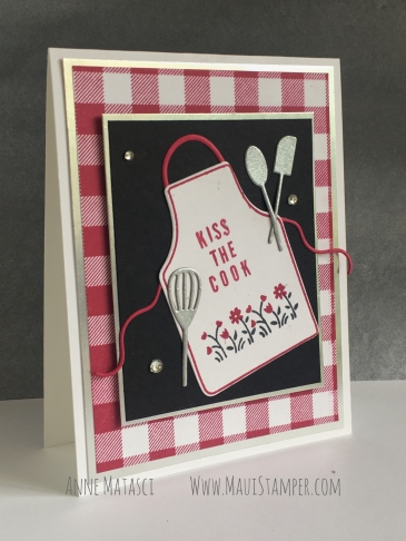 Maui Stamper Stampin' Up! Apron of Love CI43