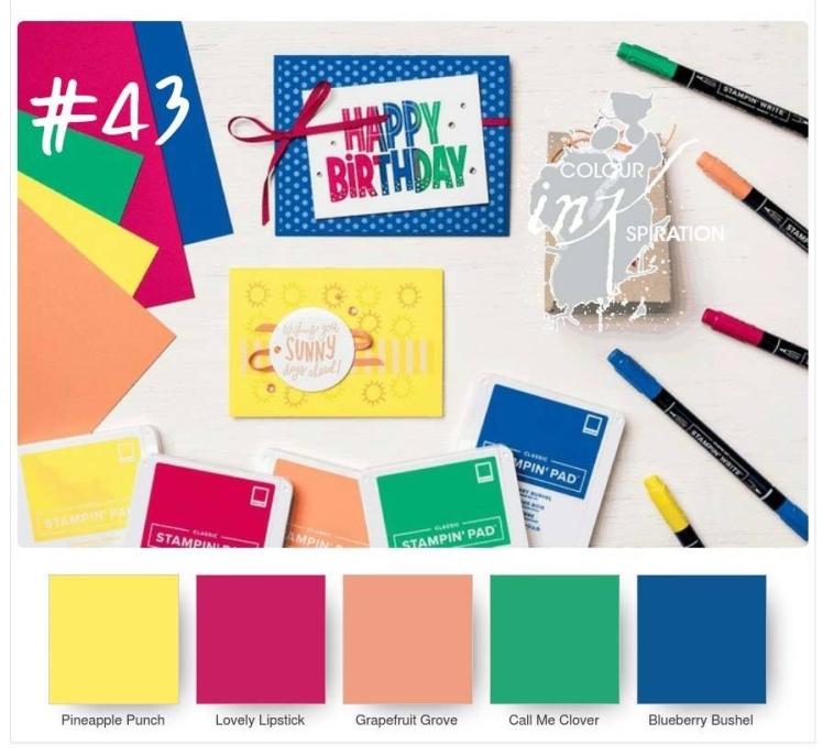 Maui Stamper Colour INKspiration 43