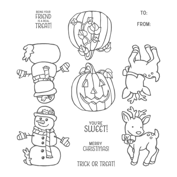 Maui Stamper Stampin' Up! Seasonal Chums Stamps