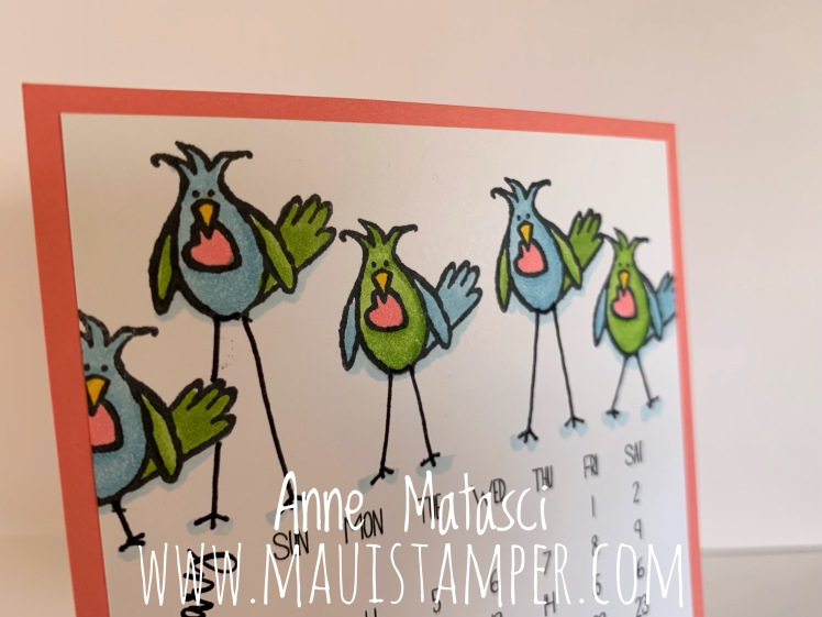Maui Stamper DIY Easel February 2019 Hello Love