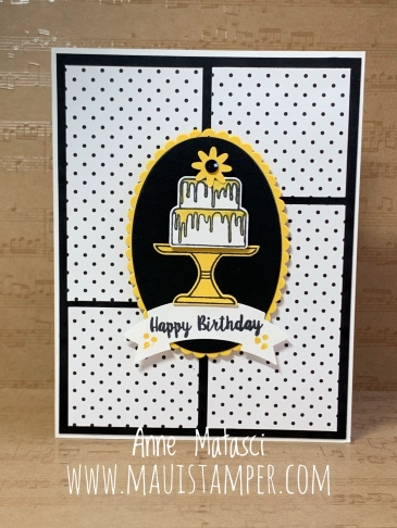 Maui Stamper Stampin' Up! Piece of Cake