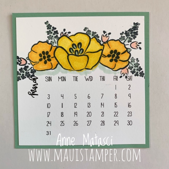 MauiStamper Stampin' Up! All That You Are March 2019 DIY
