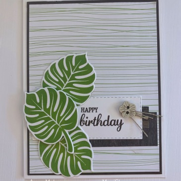 Maui Stamper Stampin' Up! Colour INKspiration 52 Tropical Chic