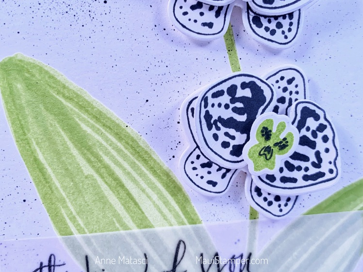 Maui Stamper Stampin' Up! ColourINKspiration Challenge #54 Climbing Orchid
