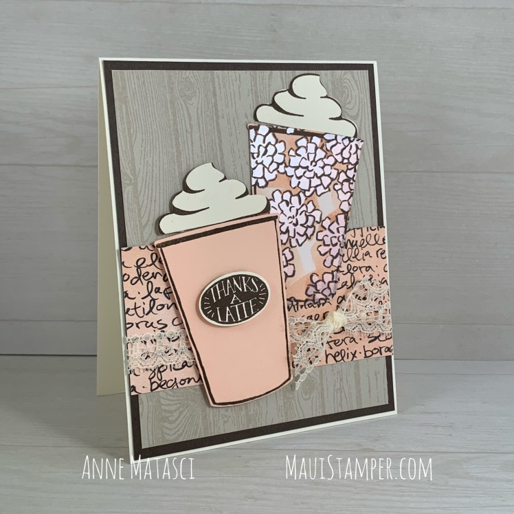 Maui Stamper Stampin' Up! Coffee Café