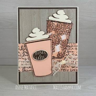 Maui Stamper Stampin' Up! Coffee Café