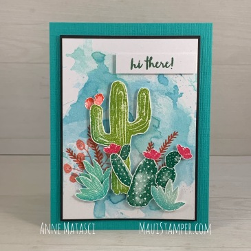 Maui Stamper Stampin' Up! Flowering Desert
