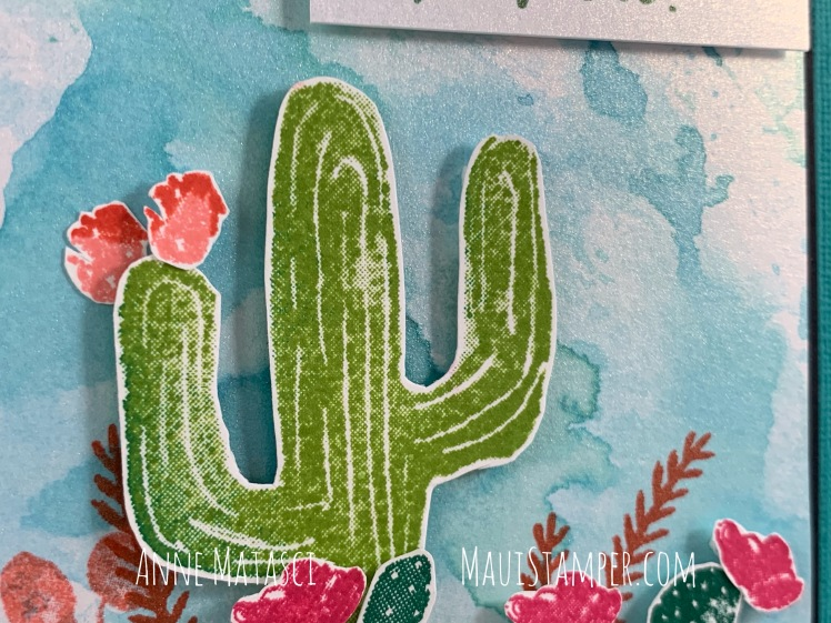 Maui Stamper Stampin' Up! Flowering Desert