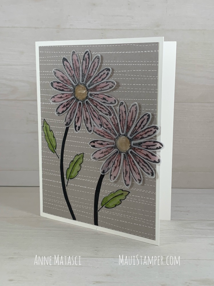 Maui Stamper Stampin' Up! Daisy Delight and the Daisy Punch