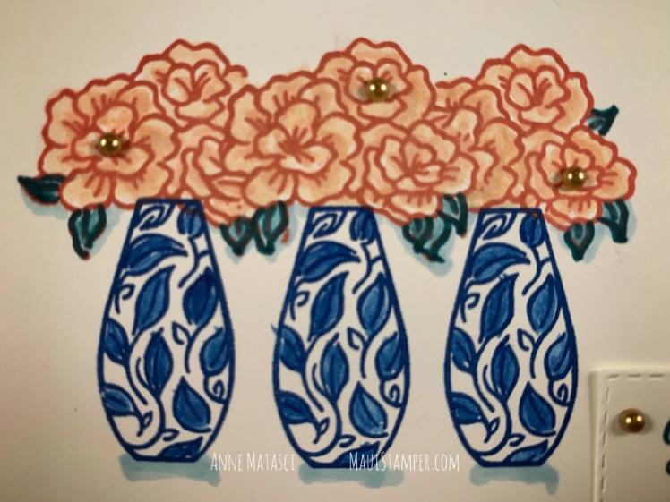 Maui Stamper Stampin Up Vibrant Vases CI#60