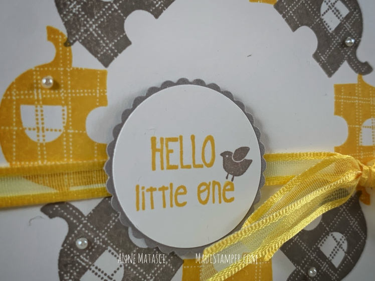 Maui Stamper Stampin Up Little Elephant Stamparatus Wreath