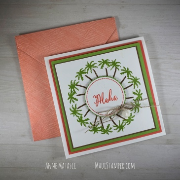 Maui Stamper Stampin Up Waterfront and Make A Difference