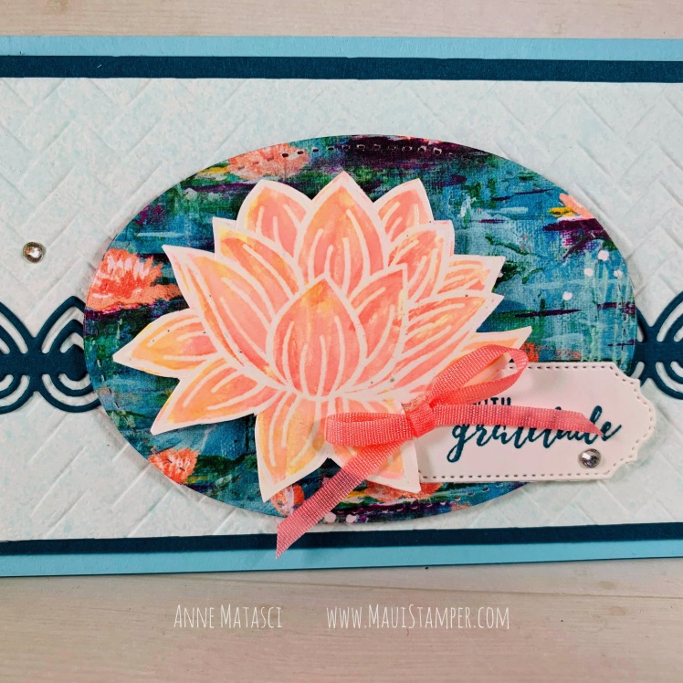 Maui Stamper Stampin Up Lovely Lilypad