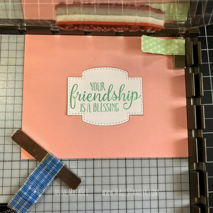 Maui Stamper Stampin Up Triangle Fun Fold