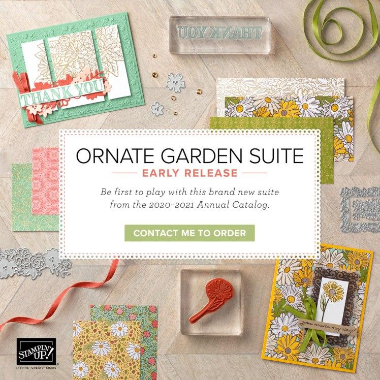 Maui Stamper Stampin Up Ornate Garden