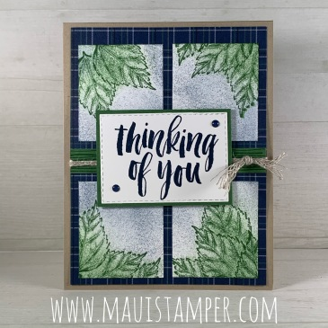 Maui Stamper Stampin Up Rooted In Nature