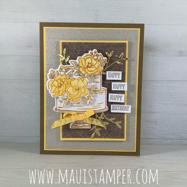 Maui Stamper Stampin' Up! Happy Birthday To You SAB 2020
