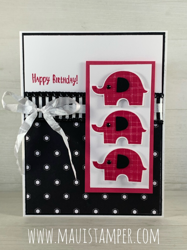 Maui Stamper Stampin Up Little Elephant