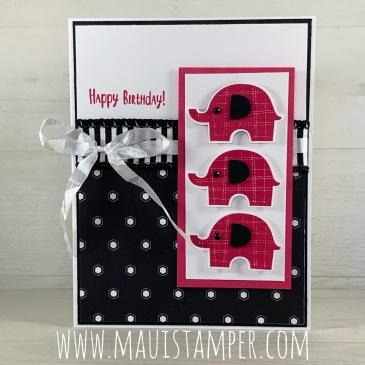 Maui Stamper Stampin Up Little Elephant