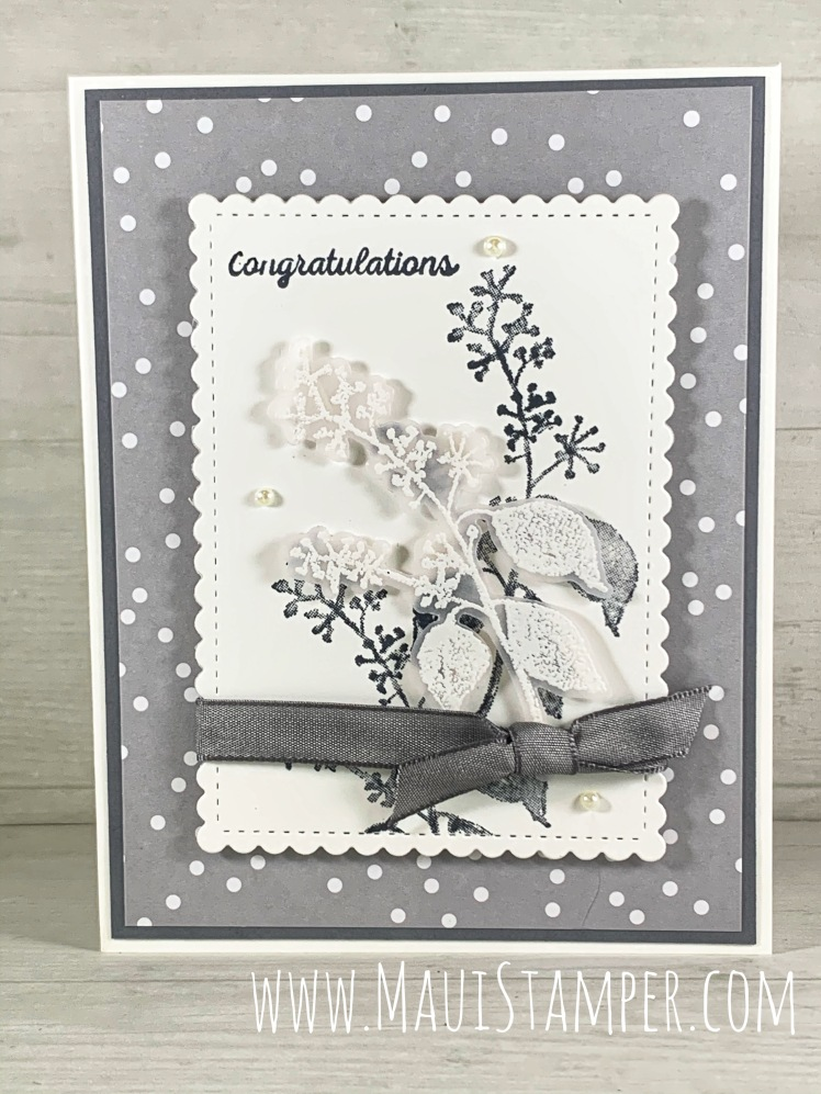 Maui Stamper Stampin Up First Frost in Gray