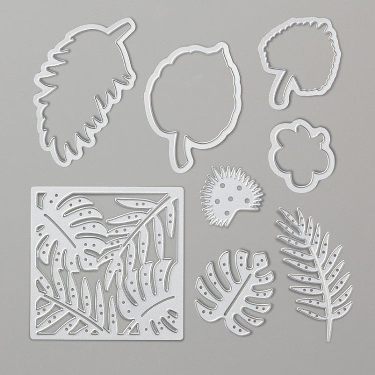 Maui Stamper Stampin Up Tropical Dies 146831