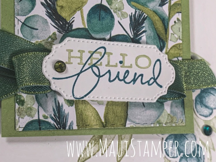 Maui Stamper Stampin Up Forever Greenery Suite