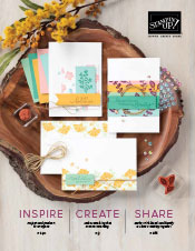 Stampin Up 2020-2021 Annual Catalog cover image