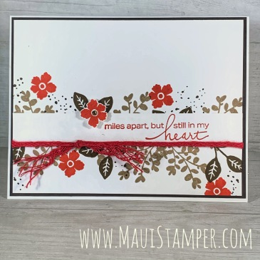 Maui Stamper Stampin Up Lovely You handmade card