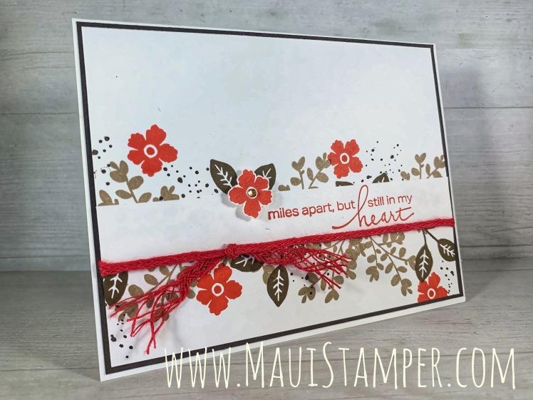 Maui Stamper Stampin Up Lovely You handmade card