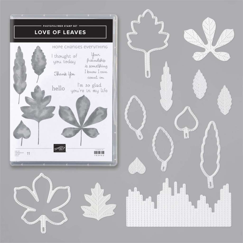 Maui Stamper Stampin Up Love of Leaves bundle