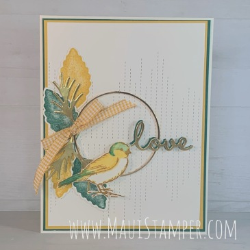 Maui Stamper Stampin Up Love of Leaves