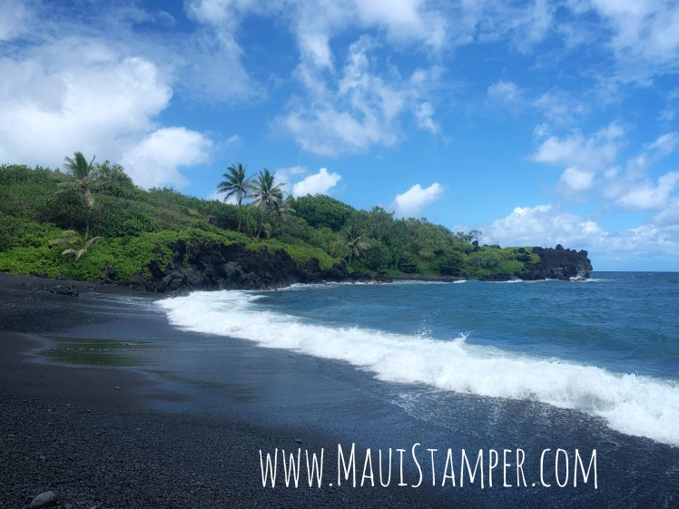 Maui Stamper Wai'ānapanapa State Park
