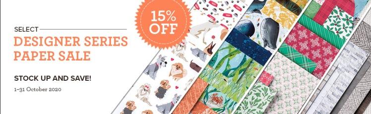 Maui Stamper Stampin Up 2020 Designer Series paper sale