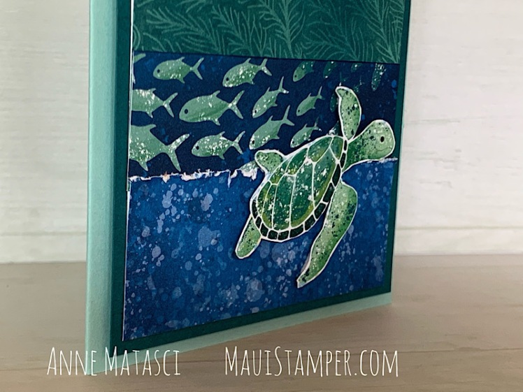 Maui Stamper Stampin Up Whale of a Time Designer Series Paper