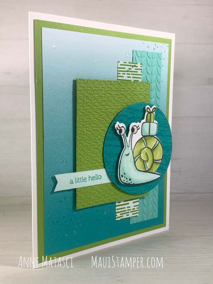 Maui Stamper Stampin Up Snailed It Ombre DSP MojoMonday552