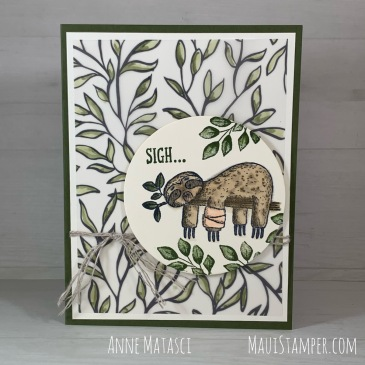 Maui Stamper Stampin Up Back On Your Feet