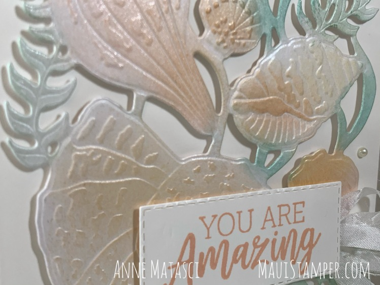 Maui Stamper Stampin Up Friends Are Like Seashells handmade card