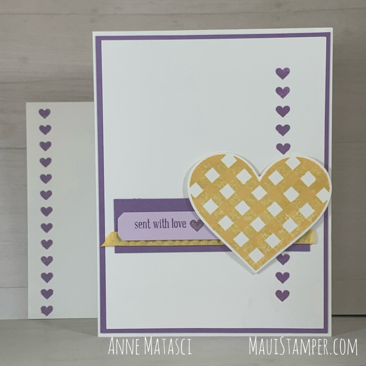 Maui Stamper Stampin Up Lots of Heart Valentines Handmade Cards